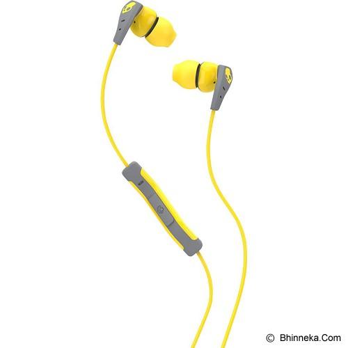 SKULLCANDY SC METHOD  W/ Mic 1 [S2CDGY-411] - Yellow / Grey - Earphone Ear Bud